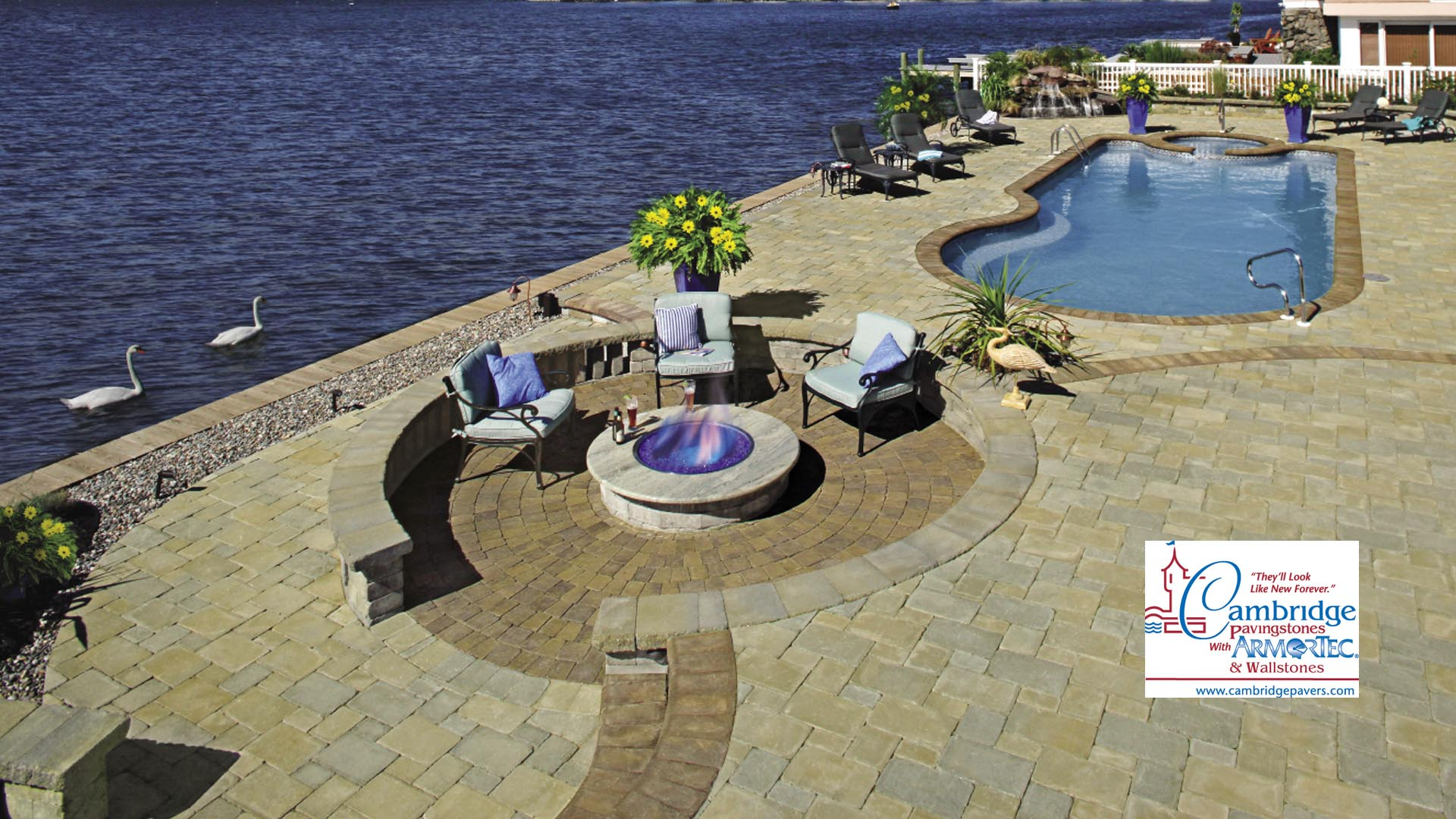 Brancato Landscaping Contractor Lawn Maintenance, Brick Pavers and Retaining Walls slide 1